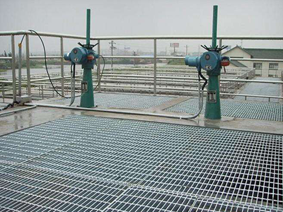 污水处理钢格板2