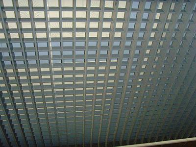钢格栅板吊顶2