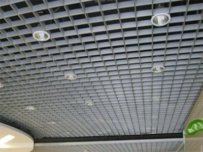 钢格栅板吊顶3