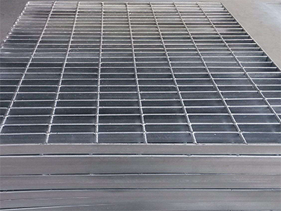 污水处理钢格板4